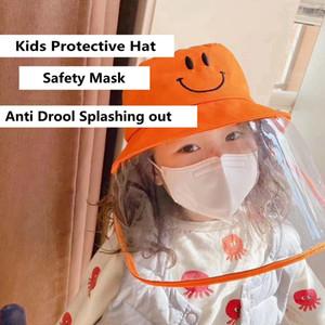 마스크 방진 안티 드룰 생활 방수 어부 모자면 분지 캡 어린이 안전 보호 HHA1175와 어린이 보호 모자