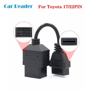Для 22Pin / 17pin к 16pin OBD адаптер OBDII разъем Бесплатная доставка OBD OBD2 кабель-адаптер
