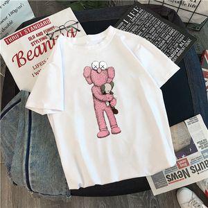2020 رخيصة عشاق قميص المرأة عارضة تي شيرت بأكمام قصيرة كوس X SESAME STREET L الملابس معطف أزياء المحملات أبلى قمزة أعلى جودة فام