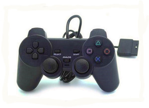 Game Controller fio para PS2 Joypad Pad wired gamepad Choque cabo longo joystick USB Wired Controller