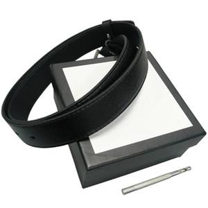 Correias das mulheres dos homens da correia cintos de couro Black Belts Mulheres cobra Big fivela de ouro Men Clássico Casual Pérola Belt Ceinture White Box 75 332