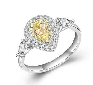 para mujer anillo rosado clásico Nueva moda femenina anillos de boda joyería de moda de calidad Prueba de amor Hight nueva llegada