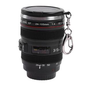 القهوة الشاي القدح عدسة الكاميرا 24-105 ملليمتر 1: 1 مقياس زجاجة المياه الرئيسية drinkware عدسة الكاميرا كوب المحمولة مع غطاء
