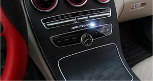 Automobile modélisation 3D AMG autocollant en métal pour Mercedes W203 W210 W211 W204 Benz C E S CLS modélisation de la décoration automobile