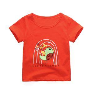 Children's T-shirt New Summer Fashion Short Sleeved Cartoon Children Kids Girls Cotton T-Shirt Kids Clothing k1