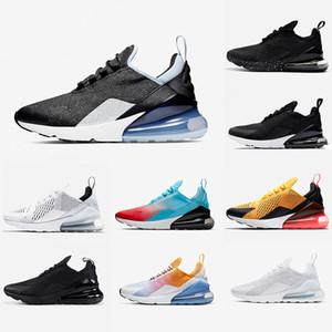 Nike Air max 270 shoes airmax 270s White Mesh Blu Navy e Burgundy Bred Donna Uomo Running Outdoor Scarpe Blooming Floral Training Sport Scarpe da ginnastica Zapatos Sneakers