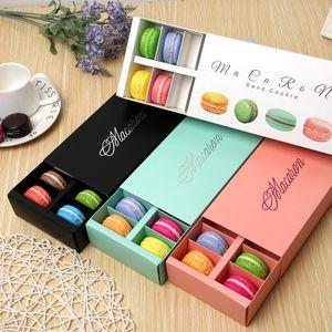 12 chicchi di installazione Makaron scatola di imballaggio di alta qualità con Kag doratura scatole cioccolatini West Point Cake vendita calda 1 85jm J1