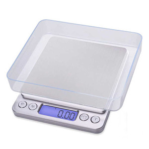 NEW 500 0.01g 3000g 0.1g LCD Portable Mini Electronic Digital Scales Pocket Case Postal Kitchen Jewelry Weight Balance Scale