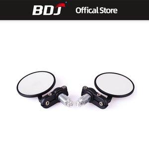 BDJ para motocicleta 22MM Universal Motor Mirror Aluminio Manillar Bar Endview Rear Side Mirror Espejos Accesorios de motocicleta