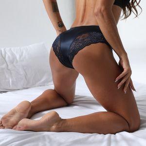 Seksi İç Giyim Bayan Hollow Külot kadın iç çamaşırını Dikişsiz Orta Bel Nefes Dantel külot Külot iç çamaşırını damla gemi womens