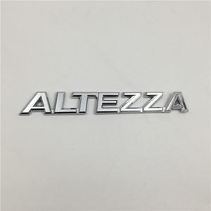Para Toyota Altezza Emblema posterior arranque del tronco del logotipo de la insignia del cromo Letters Pegatinas