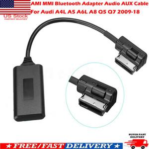 Linha de áudio Bluetooth para o Audi AMI AMI MMI Bluetooth adaptador de áudio AUX cabo para carro Audi A4L A5 A6L A8 Q5 Q7 2009-18
