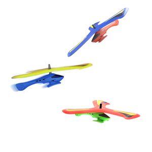 Helicóptero Boomerang Voltar Dart Indoor Outdoor Sports Brinquedos das Crianças Brinquedos de Esportes Ao Ar Livre Brinquedos de descompressão Jogar Brincar