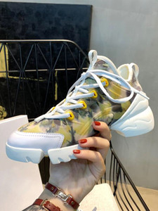 Woman Sneakers Ladies Casual Anti-Slip Sport Walking Sneakers sweat-absorbent breathable Shoes Soft Shoes Yellow bleaching size 35-40 new