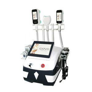 Машина формы cryolipolysis холодная кавитация лазера LiPo RF уменьшая сжигание жира лица для похудения машина для удаления 360 градусов вакуума тучная машина