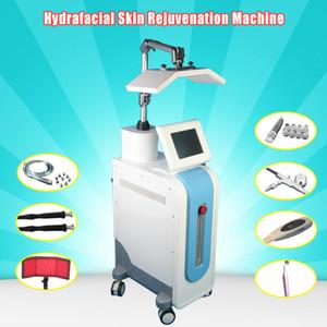 Nuevo Modelo multifunción facial Hydra PDT Bio-Light Therapyskin piel rejuvenecimiento arrugas eliminación cuidado facial máquina Hydradermabrasion spa