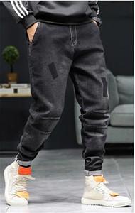 Plus Size Haroun Designer Carga Pants Personalidade Patches tornozelo Banded Mens Calças Lápis Mens 2020 roupas de grife de luxo
