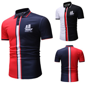 Polos Homme Half Sleeve Crew Neck Personality Summer Casual Hot Sale New Style Fashion Breathable Camisa Polo