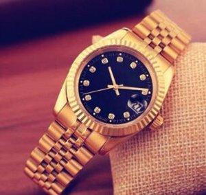 2020 di alta qualità del diamante pieno vigilanza degli uomini modo di marca di orologi automatici mens regalo dell'oro Argento Bracciale in acciaio inossidabile Orologio Men