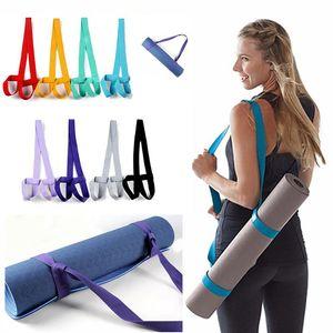 Yoga Mat Rope Adjustable Elastic Sports Sling Shoulder Carry Strap Belt Fitness Supplies Exercise Stretch Yoga Belt Fitness New