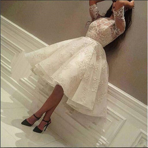New Arrival Lace Half Sleeves Prom Dress Cheap Arabic Fashion Designer Formal Evening Party Gown Custom Made Plus Size