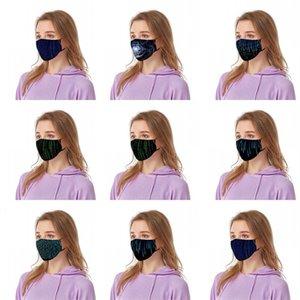 Staub-Gesichtsmasken Wissenschaft und Technologie Feeling Black Mascarilla-Code Mode Atem Mascherine Waschbar Wiederverwendbare Man Schüler 6 47by C2