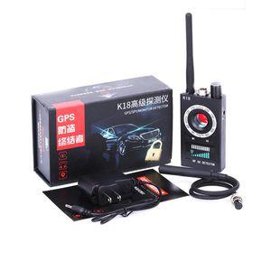 Détecteur de Bug K18 Anti Détecteur de Signal RF Finder pour Mini Caméra Sans Fil Lentille Laser GPS Tracker GSM Dispositif de Suivi Ultra-haute Sensibilité