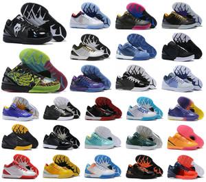 Caliente Mamba IV 4 K4 Protro Proyectos Calzado Día Hornets Carpe Diem Del Sol Deportes baloncesto para hombre ZK4 4s Tamaño US7-12 las zapatillas de deporte