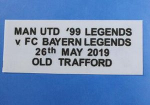 Fan Souvenir 2019-2020 ManUtd Fußball-Patch 1819 Soccer Patch Abzeichen Fußball-Hemd Patches