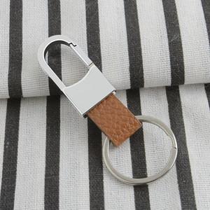 도매 2 개 스타일 남여 아연 합금 키 체인 패션 다기능 자동차 금속 + PU 열쇠 고리 창조적 인 선물 열쇠 고리 주문을 받아서 BC BH1007