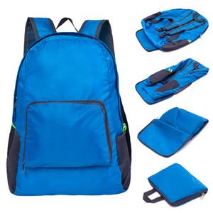 Sac à dos de voyage pliable mode plein air Portable Sport Sac en nylon sac étanche Zipper réglable sac à main pour femme hommes DBC VT0494