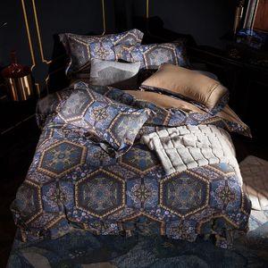 42 Home Textile Autumn Winter Bohemian Duvet Cover Flat Sheet pillowcase 4pcs soft Bed Linens Bedding Set Bed CoverGQ