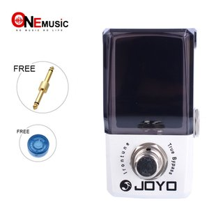 Joyo JF-326 IRONMAN Mini Pedal Irontune High Precision Effect Pedal Tuner with gold pedal connector and MOOER knob