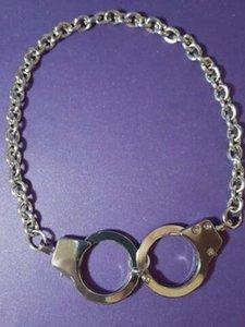 Vintage de prata pode abrir algemas Charms Colar Gargantilha Declaração Collar colar de jóias mulheres de personalidade BFF Acessórios