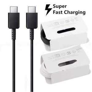 100% оригинал Примечание 10 USB Type C к TypeC кабель для Samsung Note 10 Поддержка PD QC3.0 Quick Charge для TypeC устройств