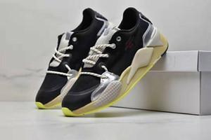 شحن مجاني HAN KJOBENHAVN RS-X الاحذية الرجال النساء الأسود سيلفي أحذية رياضية