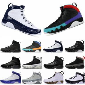 9 Dream It, Do it UNC Bred Lakers Space Jam антрацитовая статуя бароны мужчины баскетбольная обувь кроссовки дешевые новый IX 9s спортивный тренер