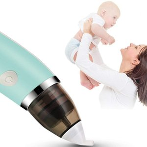 TENSKE Baby Nasal Aspirator Electric Nose Cleaner Safe Hygienic Soft Nose Cleaning Machine For Kids Baby Nasal Aspirator