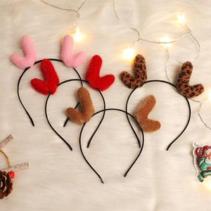 2020Christmas Headband Antellers Deer Reiner Xmas Party Holiday Party Cat Ears Antellers Rant Xmas Holiday Party Cat Ears