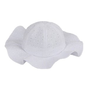 2019 New Toddler Infant Baby Girl Outdoor Bucket Hat Summer Beach Bonnet Beanie Cap Cute White Pink Kids Hat 2 Color Size 1-6T