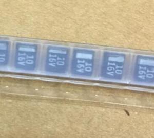 SMD B Тип 10 мкФ 10% 16 В Танталового Конденсатора