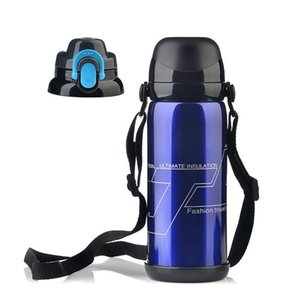 Outdoor Sports Thermos Water Bottle Personalized Stainless Steel Vacuum Flask Thermoses Thermal Coffee Mug Travel Camping Car Thermos