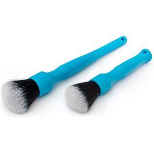 Super Soft Detailpinsel, Auto Pinsel, Detail-Reinigungs-Augen-Schatten-Beauty-Bürsten-Satz, Inner-Blau.