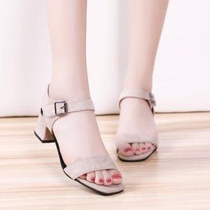 Wertzk Sandales 2020 Tenis Feminino été New Toe Fashion ouvert plate-forme Escarpin Sandales chaussure Femme Chaussures Femmes S209