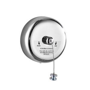 Rétractable portable en acier inoxydable Corde à linge d'intérieur en extérieur Laverie CINTRE Sèche-linge Organisateur Etendoir Corde