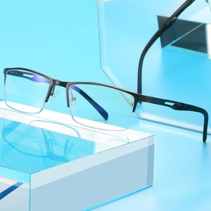 Souson new Men Blue Light Blocking Glasses Computer Eyeglasses frame Game Glasses 2020 Optical Alloy Frame UV400 protection