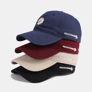 Дейзи мода дизайнер шляпа бейсбольная кепка бейсболки для мужчины женщины регулируемый бренд шапочки шляпа купол высоко качества