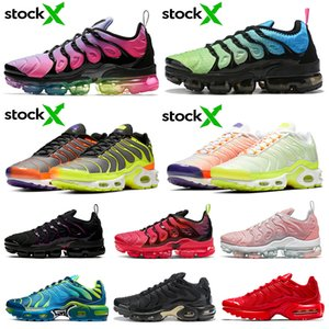 nike air vapormax air max airmax tn plus TN Plus Chaussures De Course Bumblebee Olympic Work Bleu Creamsicle Grape Coucher Du Soleil Jeu Royal Hommes Femmes Sports Sneakers 36-45
