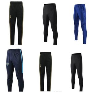 NEW 1920 Real Madrid Long pant Adult Soccer Trouser soccer shorts Training Pants 2019 2020 Boca Soccer Long Trousers Workout Running Pants