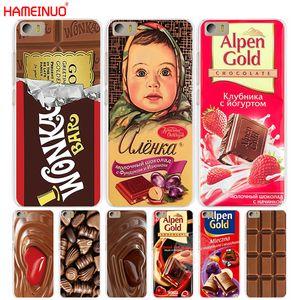 HAMEINUO alenka barra de chocolate Wonka caja del teléfono de la cubierta de Xiaomi A1 A2 M Mi 3 4 5 5S 5C 5X 6X 6 Mi3 Mi4 4I 4C MI5 MI6 NOTA MAX